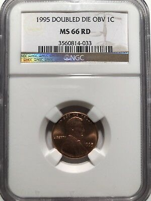 1995 DDO Lincoln Memorial Cent Penny NGC MS66RD