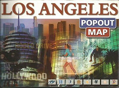 Los Angeles/Freeway (USA PopOut Maps) Sheet map, folded Book The Cheap Fast Free