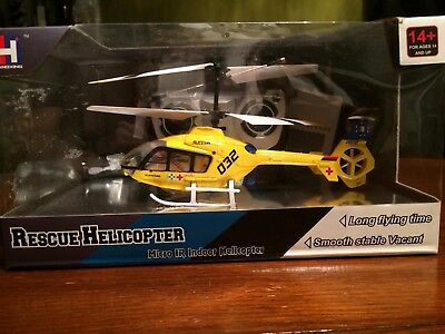 Remote control Rescue Helicopter with gyro, SX28032, Micro IR Indoor