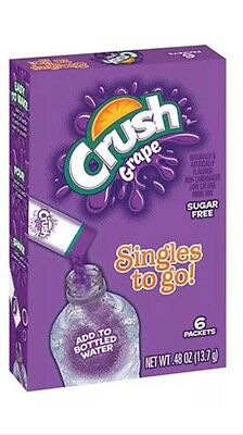 Grape Crush Singles to Go Sugar Free Drink Mix .48 oz