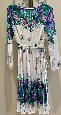 Vintage Women's Dress, marked size 12, good condition