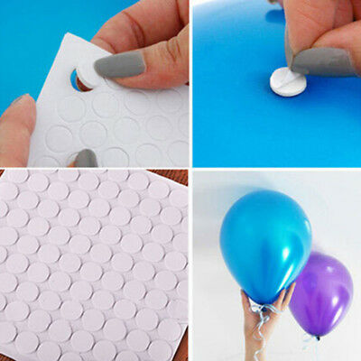 Sponge Pad Balloon Glue Point Foam Double-Sided Adhesive Round Foam Pad TL