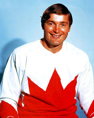 Peter Mahovlich team Canada 1972 8x10 Photo