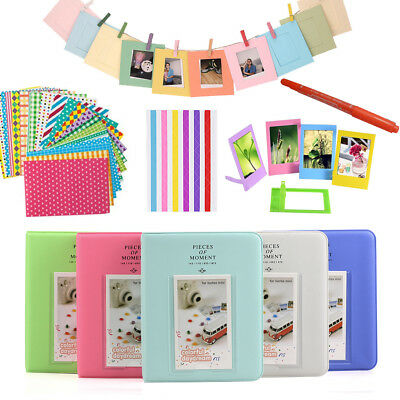 For Fujifilm Instax Mini 8 9 70 90 Film Camera Photo + Album + 10-IN-1 Kits