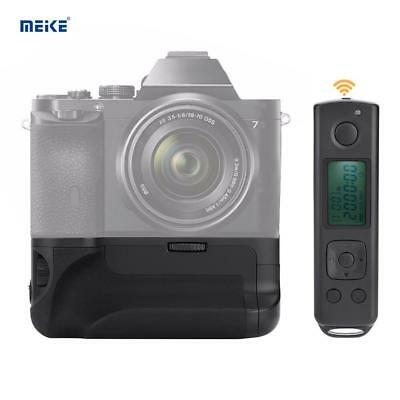 Meike MK-AR7 Akkugriff Battery Grip für Sony A7 A7R A7S Kamera Wireless Remote