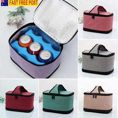 Thermal Cooler Waterproof Insulated Portable Tote Picnic Travel Lunch Bag