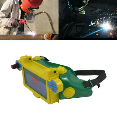 New Solar Powered Auto Darkening Welding Goggles Arc USA