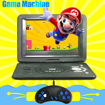 13.9in Portable DVD Player USB Built-in game handle + CD With 270° Swivel Screen