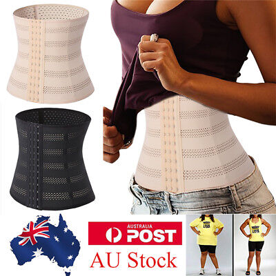 Women Waist Trainer Cinchers Tummy Gridle Body Shaper Corset Underbust Shapewear
