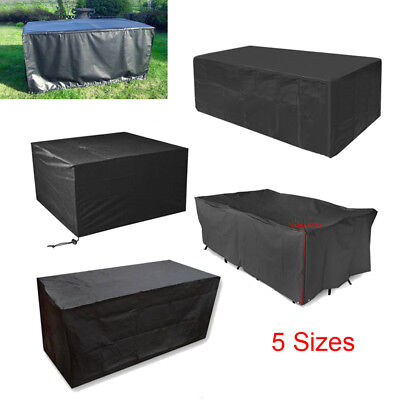 Large Waterproof Garden Patio Furniture Cover Covers Rattan Table Cube Outdoor C