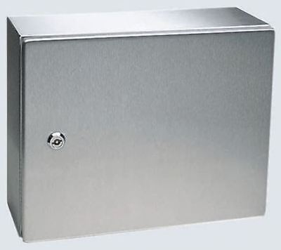 Rittal IP66, 304 Stainless Steel Wall Box 210mm x 300 mm x 300 mm