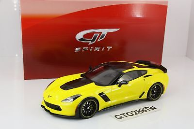 GT Spirit 1:18 scale Chevrolet Corvette Z06 C7-R Edition 2016 Yellow(LE999)GT171