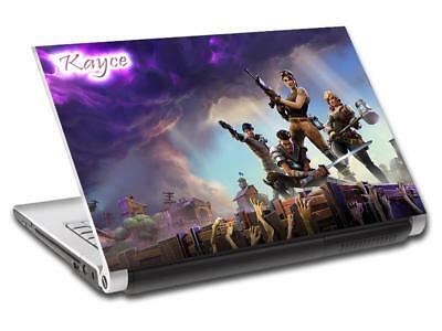 Fortnite Personalized LAPTOP Skin Cover Decal Vinyl Sticker Video Game L815