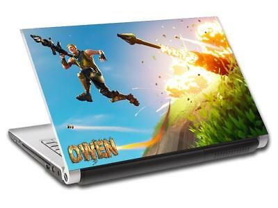 Fortnite Personalized LAPTOP Skin Cover Decal Vinyl Sticker Video Game L816