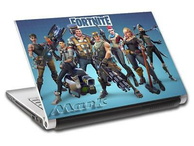 Fortnite Personalized LAPTOP Skin Cover Decal Vinyl Sticker Video Game L814