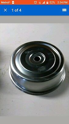 """Vollrath 9.5"""" Plate Covers Stainless Steel Catering Party Food 62620 - Set of 12"""