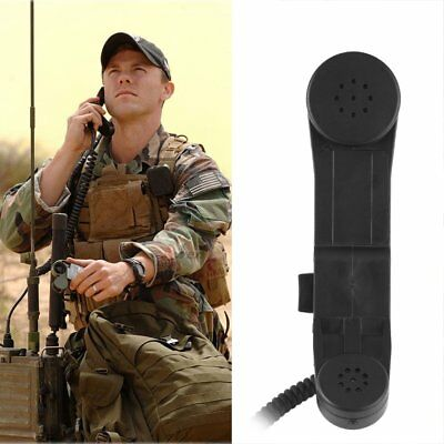 H250 Military Handheld Speaker Microphone Shoulder PTT for Midland Ham Radio QW