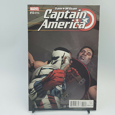 Sam Wilson Captain America #10 Marvel Comics Chris Stevens Variant Cover