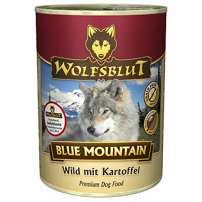 Wolfsblut 15 kg Wide Plain Blue Mountain Wild Pacific Green Valley Hundefutter