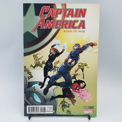 Captain America Road To War #1 Marvel Comics Pasqual Ferry Variant