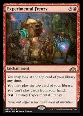 *Magic MtG: Experimental Frenzy (Rare) - GUILDS OF RAVNICA *TOP*