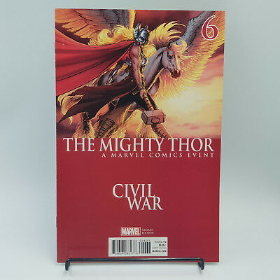 The Mighty Thor #6 Marvel Comics Civil War II Tie-In Variant