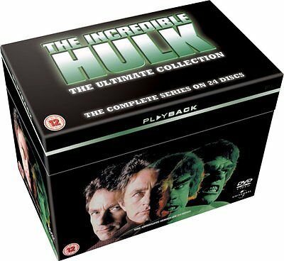 The INCREDIBLE HULK COMPLETE SERIES SEASON 1-5 DVD BOXSET REGION 4 NEW & SEALED!