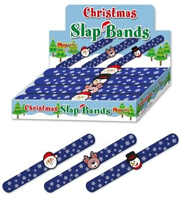 Christmas Silicone Slap Band Christmas Gifts For Kids Party  Favour Bag Filler