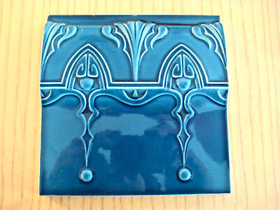 original Jugendstil  Fliese  Art Nouveau Tile Tegel Carreau Kachel