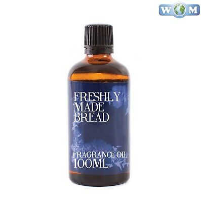 Freshly Made Bread 100ml Fragrance Oil for Soap, Bath Bombs (FO100FRESBREA)