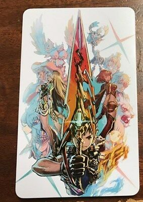 Xenoblade Chronicles 2 Limited Edition Steel book CASE ONLY. NO GAME METAL