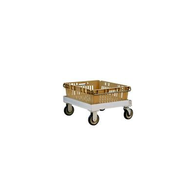 """New Age 1171SWCL Single Stack 22.5 x 21.5"""" Chill Tray Dolly"""