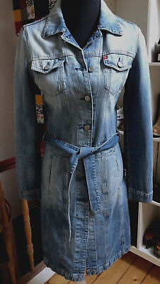 S Mantel 36 Trenchcoat Hippie Sixty Jeans 34 Jeansjacke Miss nt6xnOp