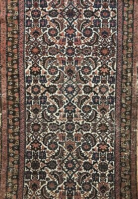 Marvelous Malayer - 1910s Antique Persian Rug - Tribal Runner - 2.10 x 6.5 ft.