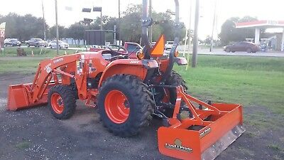 2017 Kubota Bx235 4X4 Tractor With Loader And Backhoe
