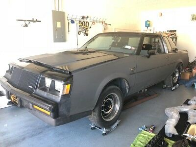 1987 Buick Grand National  1987 Buick Grand National T Top