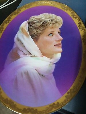 princess diana plates limited edition Bradford Exchange