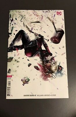 Suicide Squad #47 (2018 DC) Mattina Variant Cover B Harley Quinn Sold Out NM