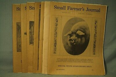 lot 7 Small Farmer's Journal Navajo Sheep Horse Packing Chicken house Hogs 1980s
