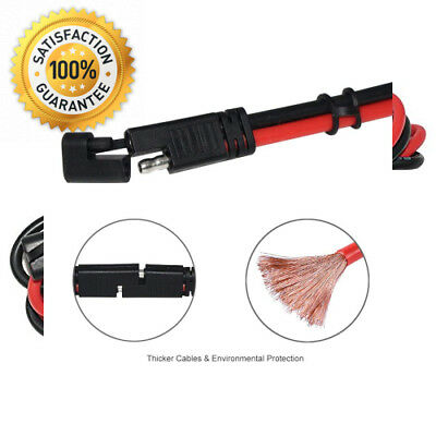 KUNCAN 3FT Sae to Connector Extension Cable, 12AWG 2 Pin Heavy Duty Quick...