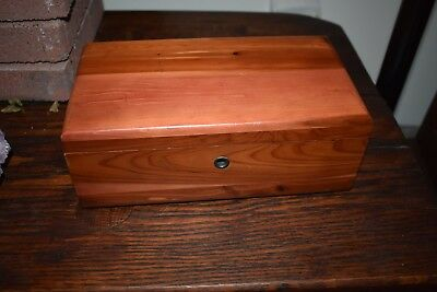 Miniature Lane Cedar Chest  Trinket Box from Ogden-Howard Furn.  Wilmington, DE