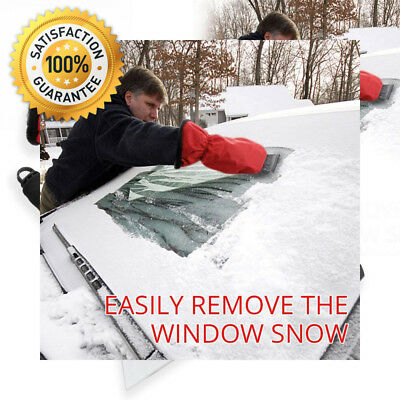 Ice Scraper Mitts, Migimi Windshield Snow with Glove & Long Handle for Car...