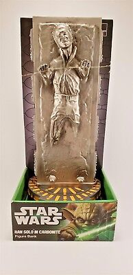 2013 Star Wars Han Solo in Carbonite Figure Bank Diamond Select Toys New in Box