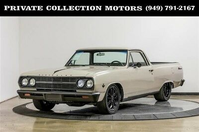 1965 Chevrolet El Camino  350 Goodwrench crate motor rated at 330 HP Cool Classic Resto Mod