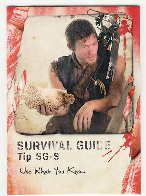 2016 Walking Dead Überleben Survival Guide #S Use What You Know - Daryl