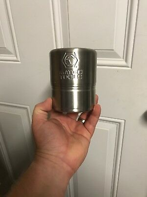 MATCO TOOLS Metal Drink 'Coozie' Beer Can Drink Holder WITH MAGNETIC BOTTOM!
