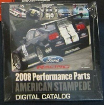 2008 Ford Racing Parts Catalog On Cd Frpp Shelby Gt Mustang 4 6 5 4