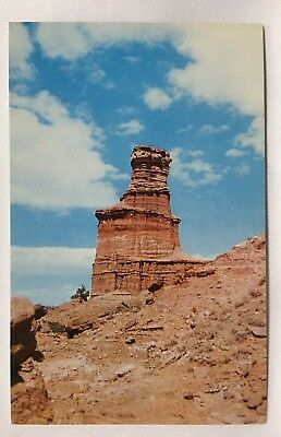 Texas TX Amarillo Palo Dura Canyon Postcard Old Vintage Card View Standard Post