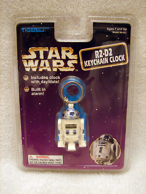 R2D2 Keychain Clock by Tiger Electronics Model 88-021  NEW