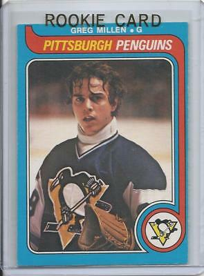 1979-80 OPC O-Pee-Chee Greg Millen Rookie Card RC #281 (Excellent)